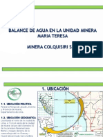Balance de Agua_colquisiri