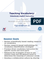 Teaching Vocabulary 1