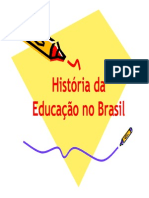 Historia Da Educacao No Brasil