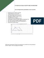 Pembuktian Rumus Menggunakan Software Geometers Sketchpad