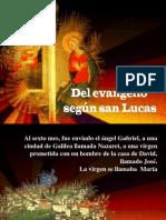 Presentacion Del Angel a Maria_Lucas