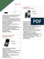 Telefono Celular Mp7 en Stock