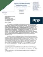 2014 06 09 DEI Jordan to Koskinen IRS DOJ Disks Tax Exempt Applications