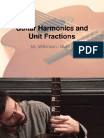 Harmonics and Unit Fractions