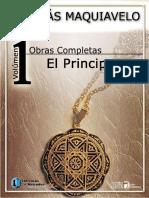 El Principe Nicolás Maquiavelo[1] Libro