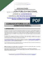 02 Bases LPN-F APAZU-2013-05 Construc 1era Etapa Del Tramo III (Suministros)