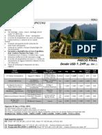 Amanecer en Machu Picchu (1)