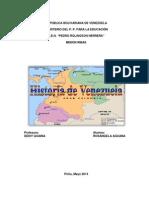 Rosangela Aguana La Gran Colombia y El Caudillismo en Venezuela