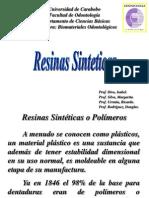 TEMA No 7 = Resinas Sinteticas (Catedra).