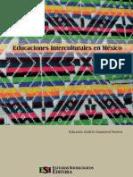 EDUARDO ADRES SANDOVAL. Educaciones Interculturales en México