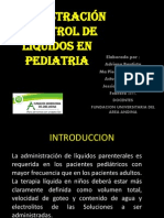 Admon y Control de Liqen Pediatria II Sem 2012