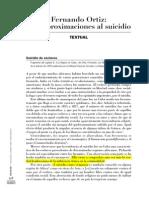 Fernando Ortiz Suicidio Cuba