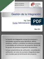 Clase API04 La Gestion de Integracion 2014