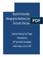 Thayer Beyond Territoriality