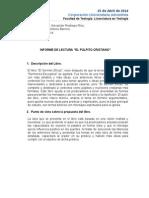 Informe Lectura_Libro Pulpito Cristiano
