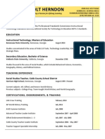 resume shannon holt herndon updated 2014