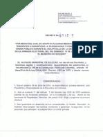 Decreto Medidas de Seguridad en Soledad-Atlántico, elecciones presidenciales segunda vuelta