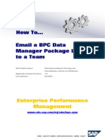 How to E Mail BPC Data