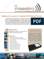 Maestro 3GIR Product Brief v25