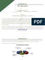 IIFT 2009 OverallAnalysis