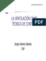 La Ventilacion - Tecnica de Control