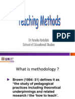 Teaching Methods (SOLLAT Talk)