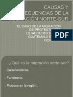 Causas y Consecuencias de La Migración Norte-sur Coloquio