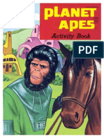 Planet of the Apes Coloring Book - c2433