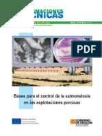 Bases para el control de la salmonelosis porcina