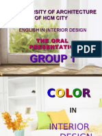 Color In Interior Design