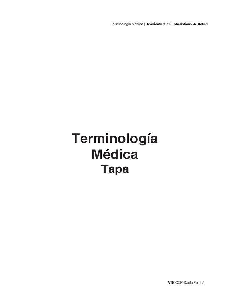 Módulo TM Terminologia Medica