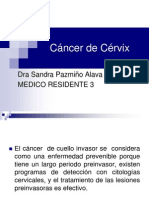 Cancer de Cervix Dr Padilla