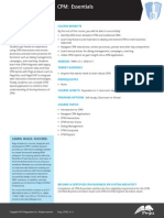 CPM Essentials 7.1 Data Sheet 2014