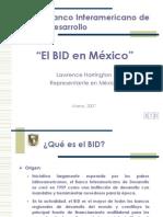 Presentaci n BID M Xico Mzo 07
