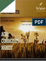 Daily Agri News Letter 11 June 2014