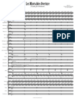 Les Misérables Overture- Full Score Rev