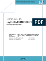 Informe de Lab de Fisica Dinamica de Rotacion