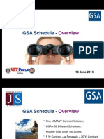 GSA Schedule Overview - VET Force - Small Business Adminisration