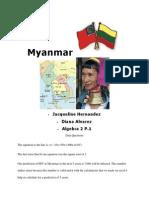 myanmar artifact