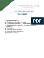 Analiza Unor Alcaliozi Din Rostopasca - Enache Viorel Gr1 Sgr 2
