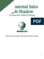 Jobshadow Questions