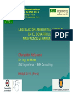 Osvaldo Aduvire Legislacion EIA Social Aduvire 2013
