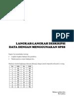 Deskripsi Data dengan SPSS