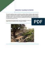 Los Acueductos y Galerias Filtrantes