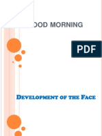 Development of the Face 1