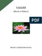 Human Values Book English