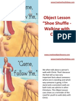 Object Lesson - Shoe Shuffle - Walking With Christ