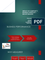 Impact of Company's Business Portfolio – BRITANNIA