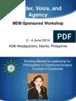 Session 8, Cambodia