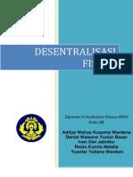 Paper Desentralisasi Fiskal